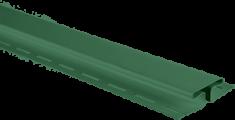 """Планка """"соединительная"""", 3м, цвет Зелёный"""