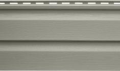 Панель виниловая Альта-Сайдинг серо-зеленая, 1,83м
