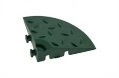 Угловой элемент обрамления, цвет Зеленый